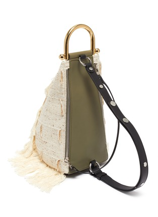 Detail View - Click To Enlarge - JW ANDERSON - Small wedge bag