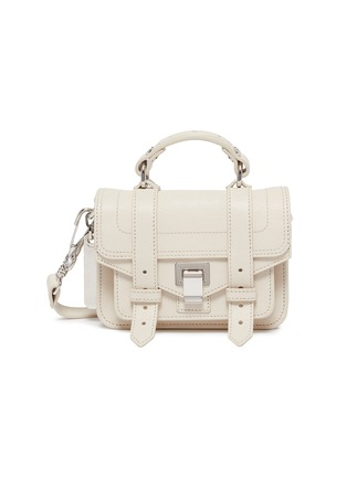 Main View - Click To Enlarge - PROENZA SCHOULER - 'PS1 Micro' leather crossbody bag
