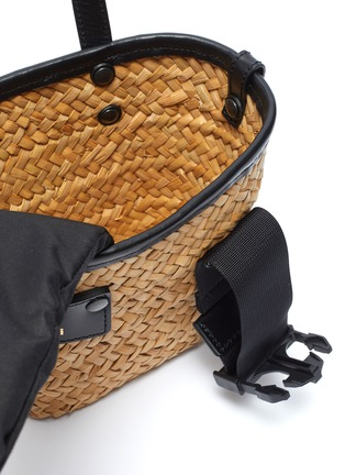 Detail View - Click To Enlarge - SACAI - 'Hybrid Marche Micro' braided bag