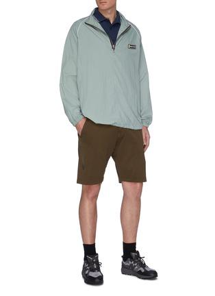 Figure View - Click To Enlarge - STONE ISLAND - Logo Appliquéd Polo Shirt