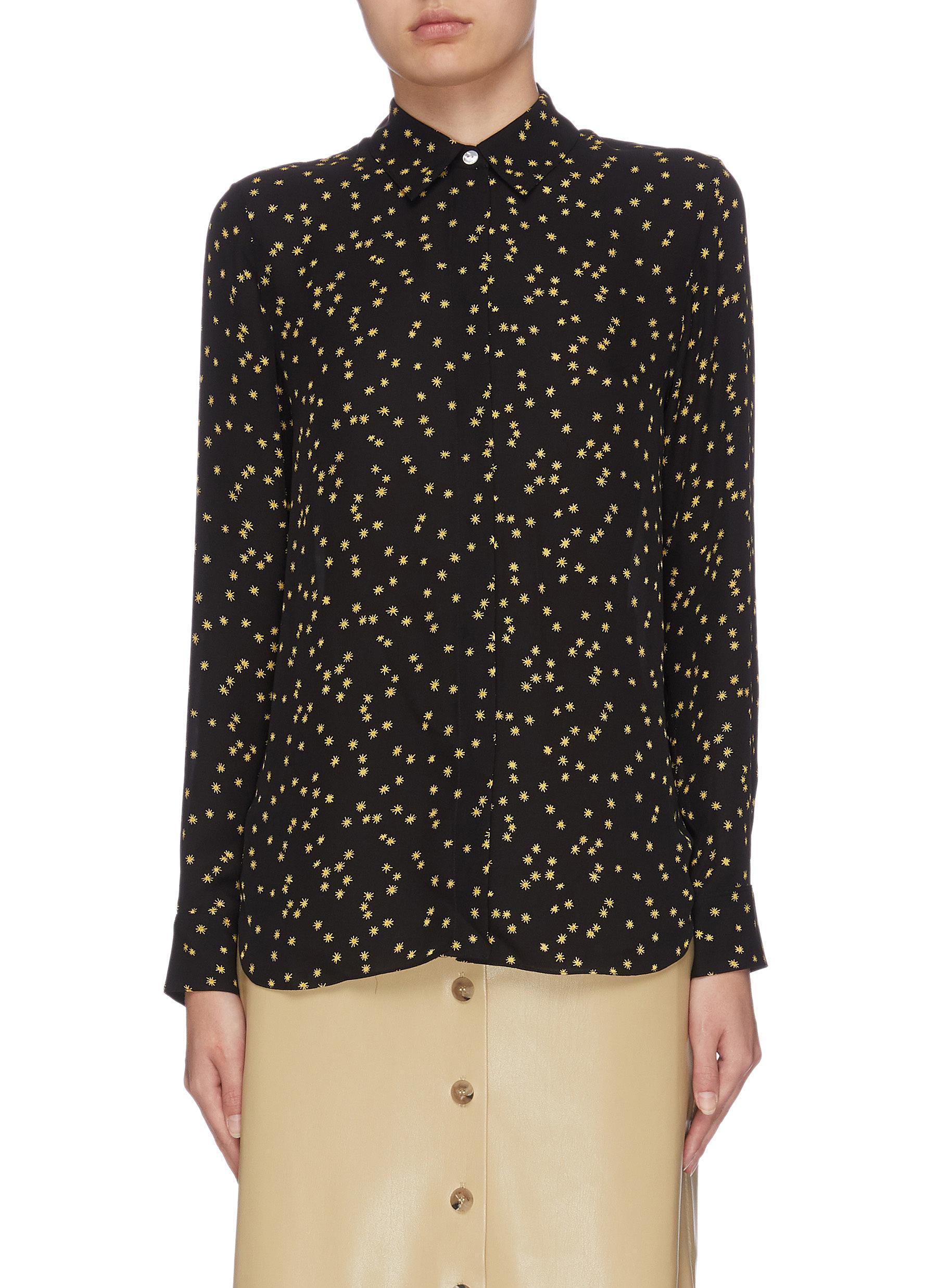 shop Theory Star print shirt online