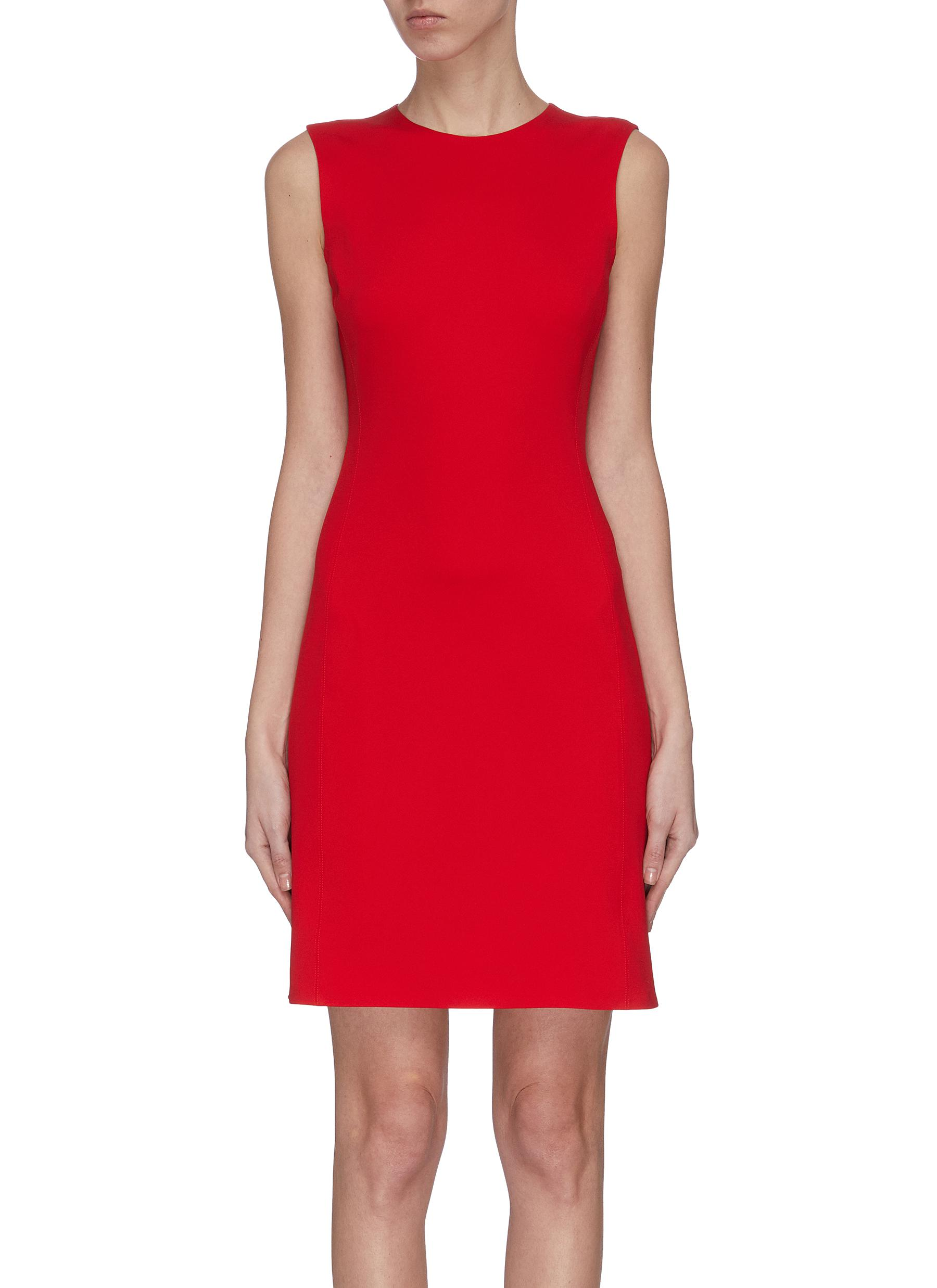 shop Theory Structured fitted dress online