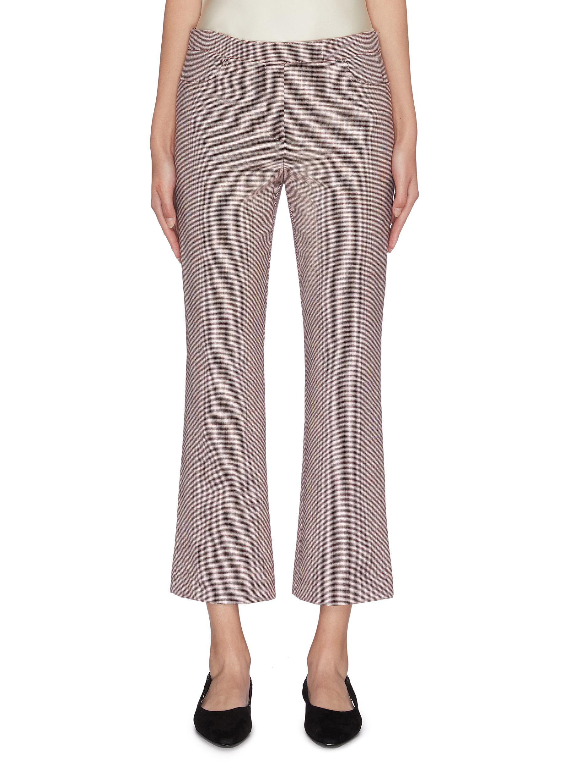 shop Theory Cropped flare pants online
