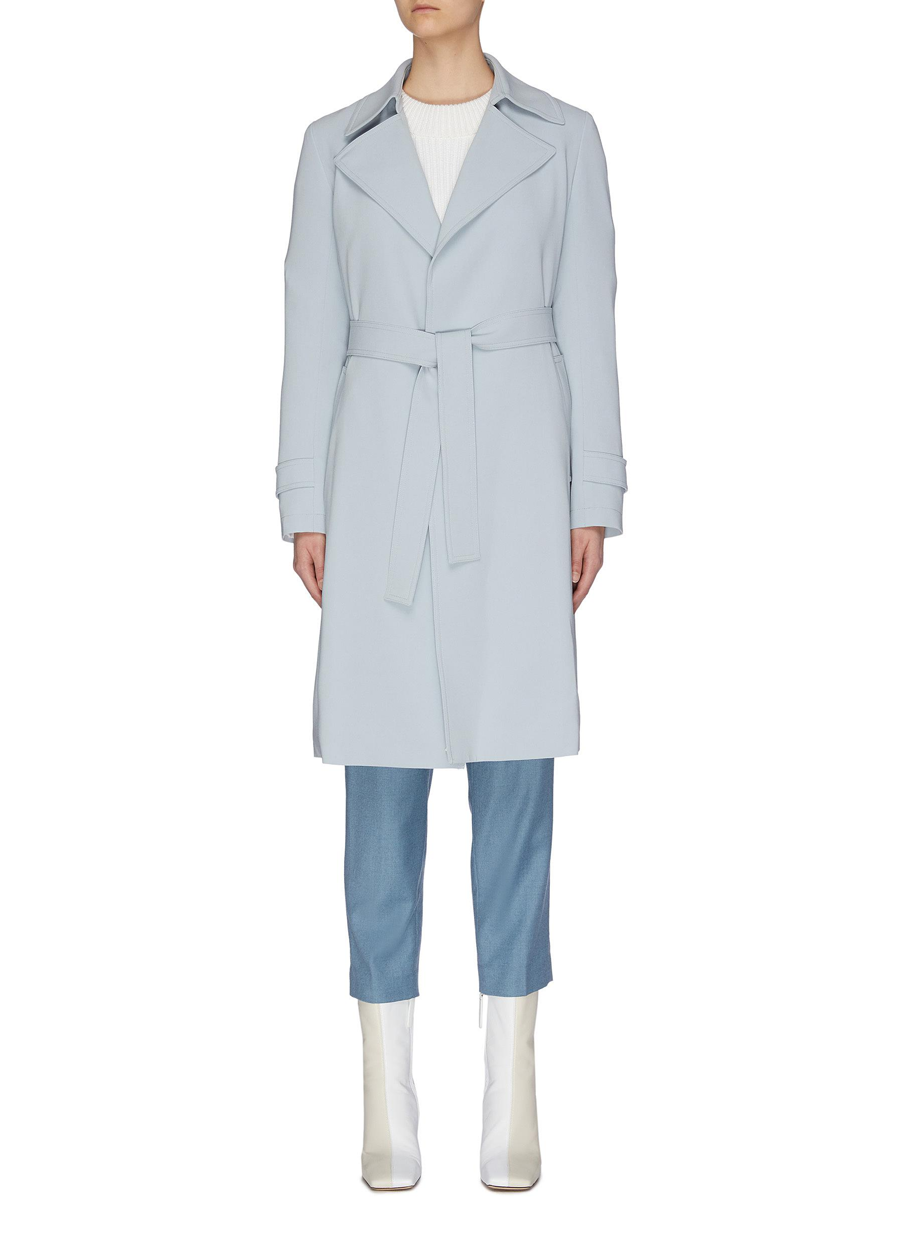 shop Theory 'Oaklane' belted coat online