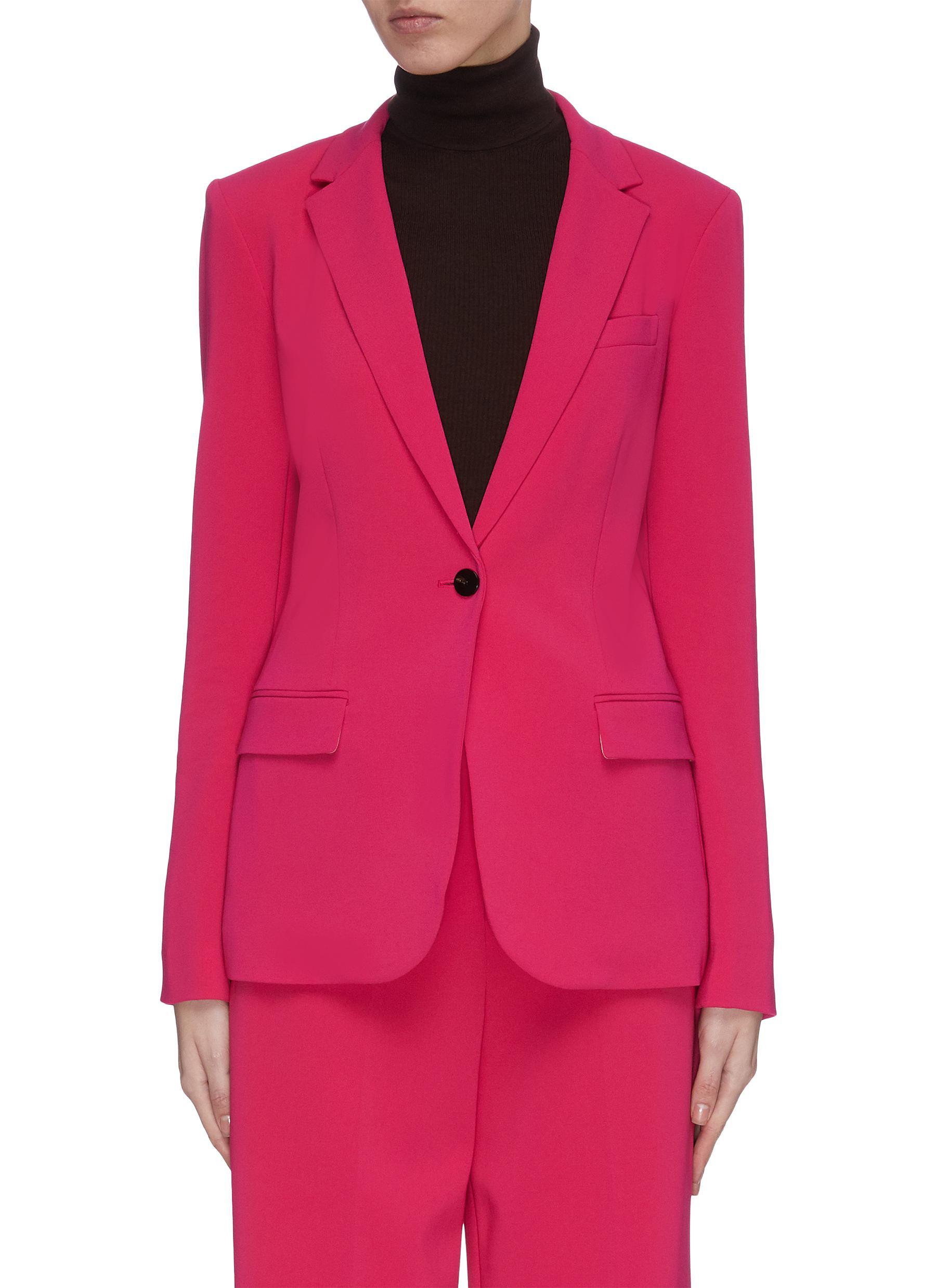 shop Theory Single button staple blazer online