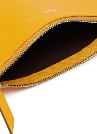 Detail View - Click To Enlarge - MÉTIER - Calfskin leather zip pouch
