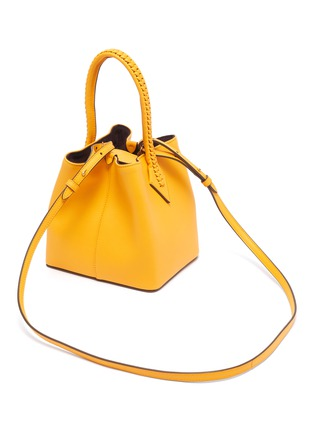 Detail View - Click To Enlarge - MÉTIER - 'Perriand' calfskin leather mini tote