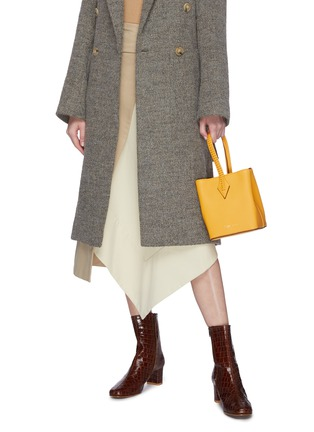 Figure View - Click To Enlarge - MÉTIER - 'Perriand' calfskin leather mini tote