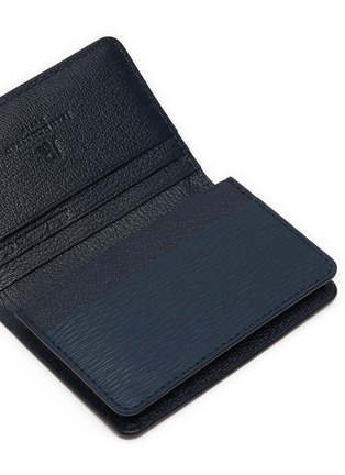 Detail View - Click To Enlarge - JEAN ROUSSEAU - Embossed leather business card holder