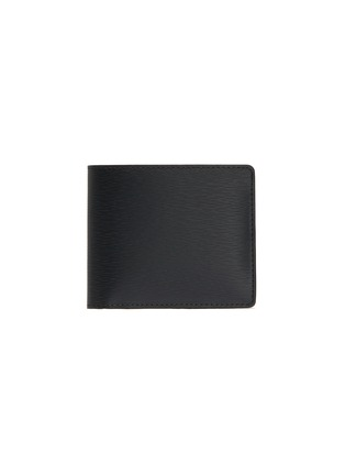 Main View - Click To Enlarge - JEAN ROUSSEAU - 'Hipster' embossed calfskin leather bi fold wallet