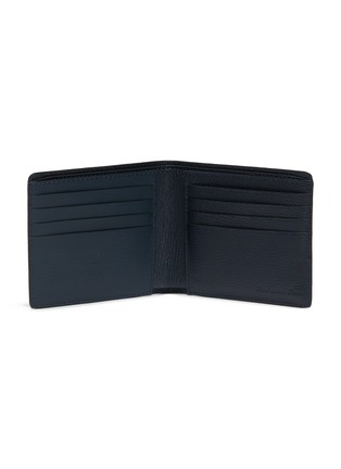 Figure View - Click To Enlarge - JEAN ROUSSEAU - 'Hipster' embossed calfskin leather bi fold wallet