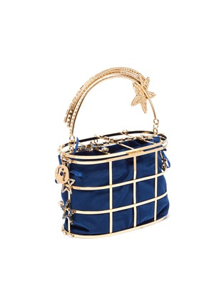 Detail View - Click To Enlarge - ROSANTICA - 'Holli Superstar' cage bucket bag