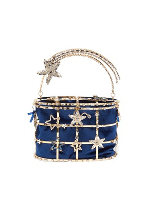 Main View - Click To Enlarge - ROSANTICA - 'Holli Superstar' cage bucket bag