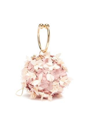 Main View - Click To Enlarge - ROSANTICA - 'Edera' floral top handle bag
