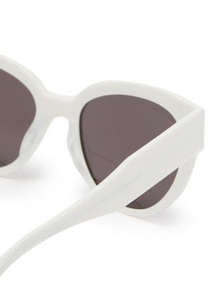 Detail View - Click To Enlarge - BALENCIAGA - Acetate frame cat eye sunglasses