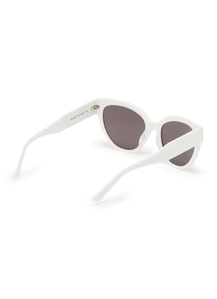 Figure View - Click To Enlarge - BALENCIAGA - Acetate frame cat eye sunglasses