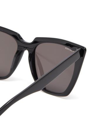 Detail View - Click To Enlarge - BALENCIAGA - Acetate frame cat eye sunglasses