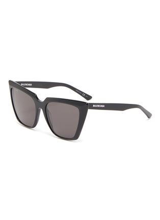 Main View - Click To Enlarge - BALENCIAGA - Acetate frame cat eye sunglasses
