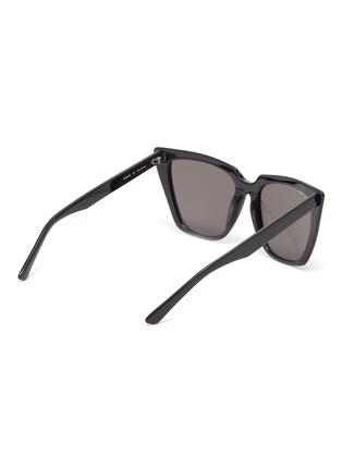 Figure View - Click To Enlarge - BALENCIAGA - Acetate frame cat eye sunglasses