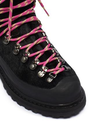 Detail View - Click To Enlarge - DIEMME - 'Everest' calf hair hiker boots
