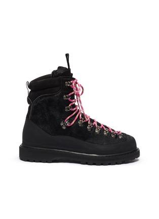 Main View - Click To Enlarge - DIEMME - 'Everest' calf hair hiker boots