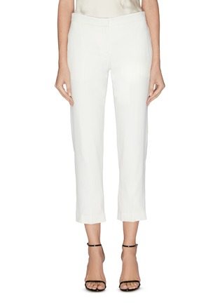 Main View - Click To Enlarge - ALEXANDER MCQUEEN - Cropped tailor pants