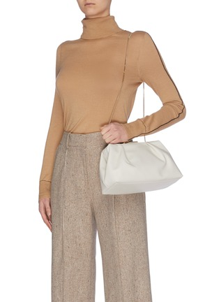 Front View - Click To Enlarge - DEMELLIER - 'Florence' soft leather clutch
