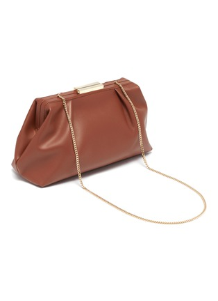 Detail View - Click To Enlarge - DEMELLIER - 'Florence' soft leather clutch