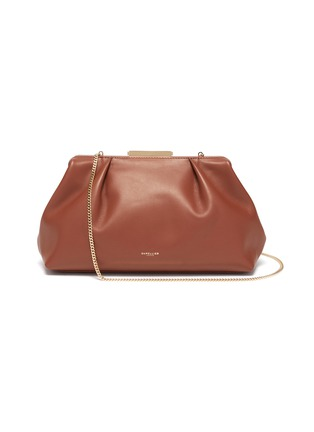 Main View - Click To Enlarge - DEMELLIER - 'Florence' soft leather clutch