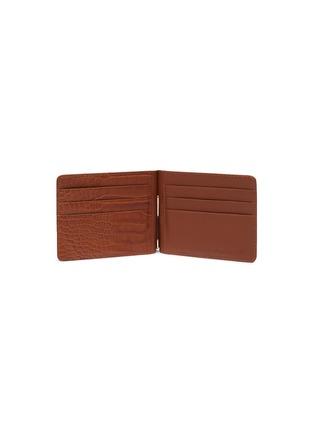Figure View - Click To Enlarge - JEAN ROUSSEAU - Alligator leather money clip wallet