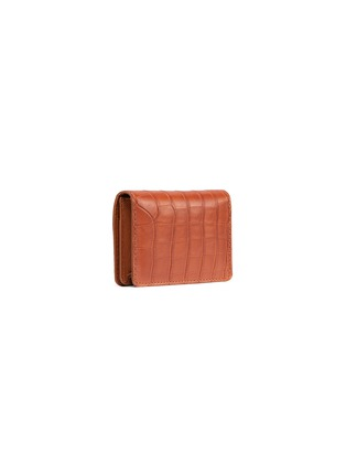 Figure View - Click To Enlarge - JEAN ROUSSEAU - Alligator leather business cardholder