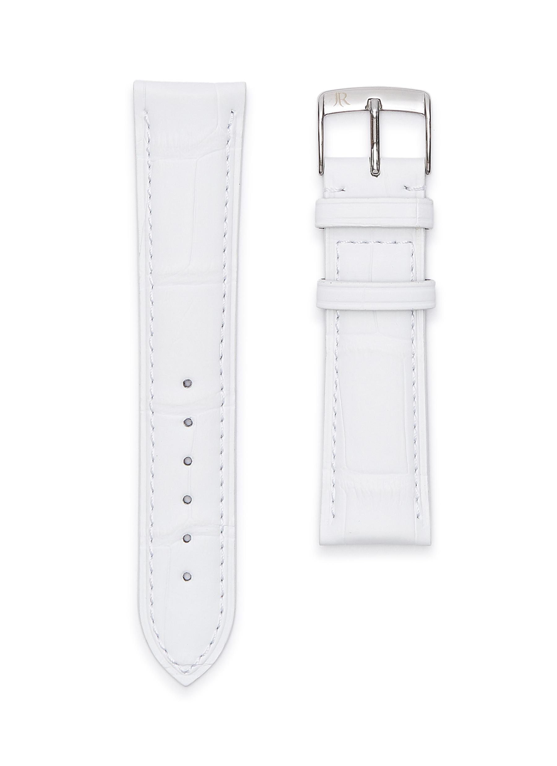 Alligator leather watch strap