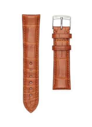 Main View - Click To Enlarge - JEAN ROUSSEAU - Alligator leather watch strap