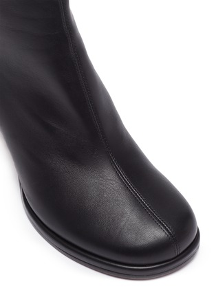 Detail View - Click To Enlarge - MANU ATELIER - 'Chae' Leather Ankle Boots