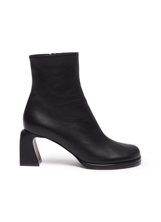Main View - Click To Enlarge - MANU ATELIER - 'Chae' Leather Ankle Boots
