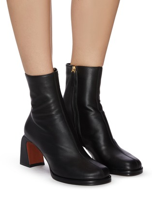 Figure View - Click To Enlarge - MANU ATELIER - 'Chae' Leather Ankle Boots