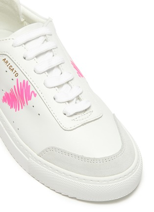 Detail View - Click To Enlarge - AXEL ARIGATO - 'Dunk Scribble' kids leather sneakers