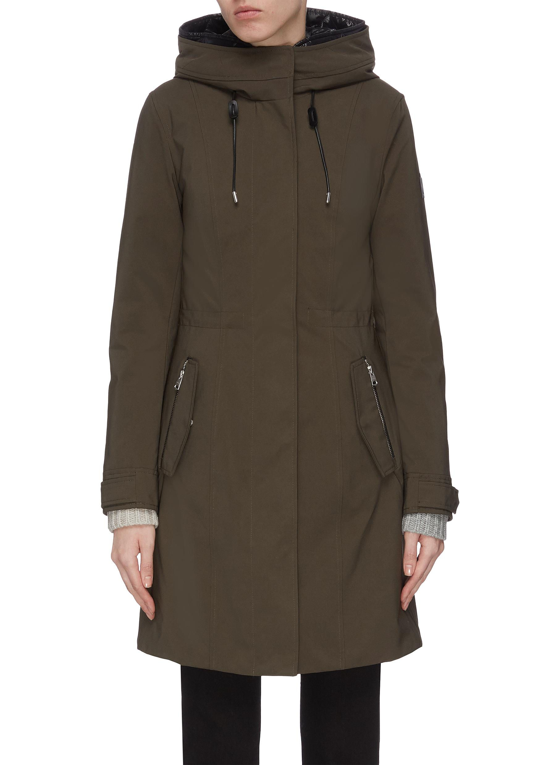 shop Mackage 'Katie' detachable puffer lining hooded parka online