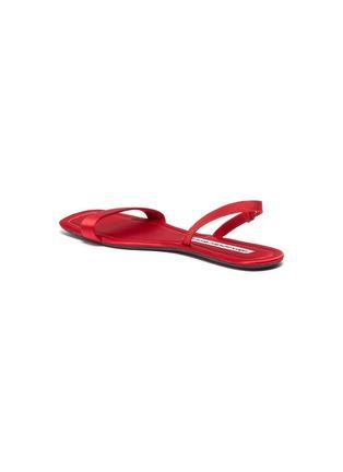 - ALEXANDER WANG - Fold up satin sandals