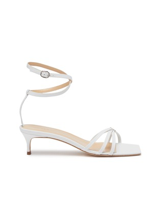 Main View - Click To Enlarge - BY FAR - 'Kaia' strappy leather heeled sandals