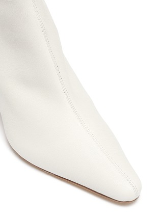 Detail View - Click To Enlarge - BY FAR - 'Stevie' stretch leather ankle boots