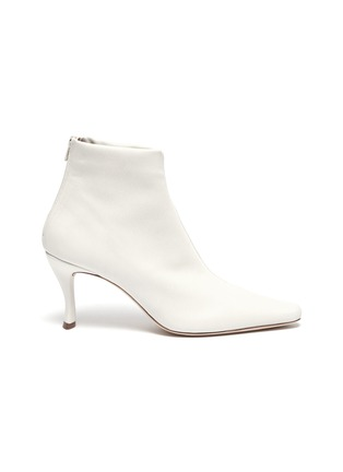 Main View - Click To Enlarge - BY FAR - 'Stevie' stretch leather ankle boots