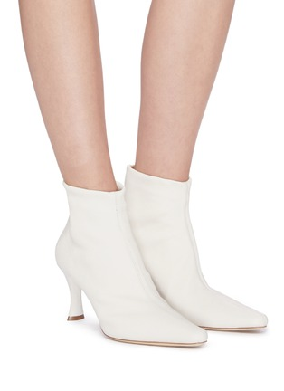 Figure View - Click To Enlarge - BY FAR - 'Stevie' stretch leather ankle boots