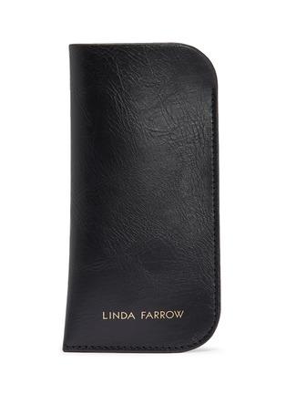 Detail View - Click To Enlarge - LINDA FARROW - Tortoiseshell Acetate Frame Sunglasses