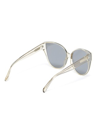 Figure View - Click To Enlarge - LINDA FARROW - Acetate Frame Cateye Sunglasses