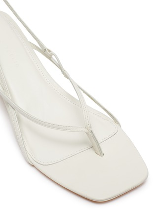 Detail View - Click To Enlarge - STUDIO AMELIA - '2.6' strappy leather sandals