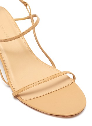 Detail View - Click To Enlarge - STUDIO AMELIA - '2.3' strappy leather sandals