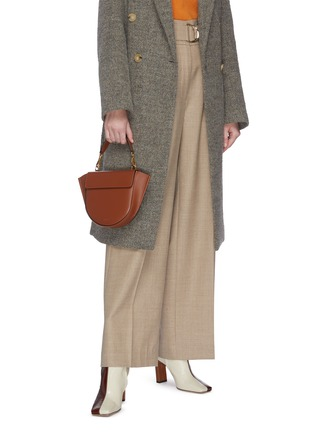 Front View - Click To Enlarge - WANDLER - 'Hortensia' mini leather shoulder bag