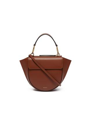 Main View - Click To Enlarge - WANDLER - 'Hortensia' mini leather shoulder bag