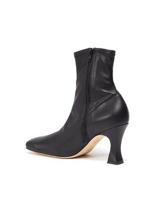 - A.W.A.K.E. MODE - 'Priscilla' stretch leather ankle boots